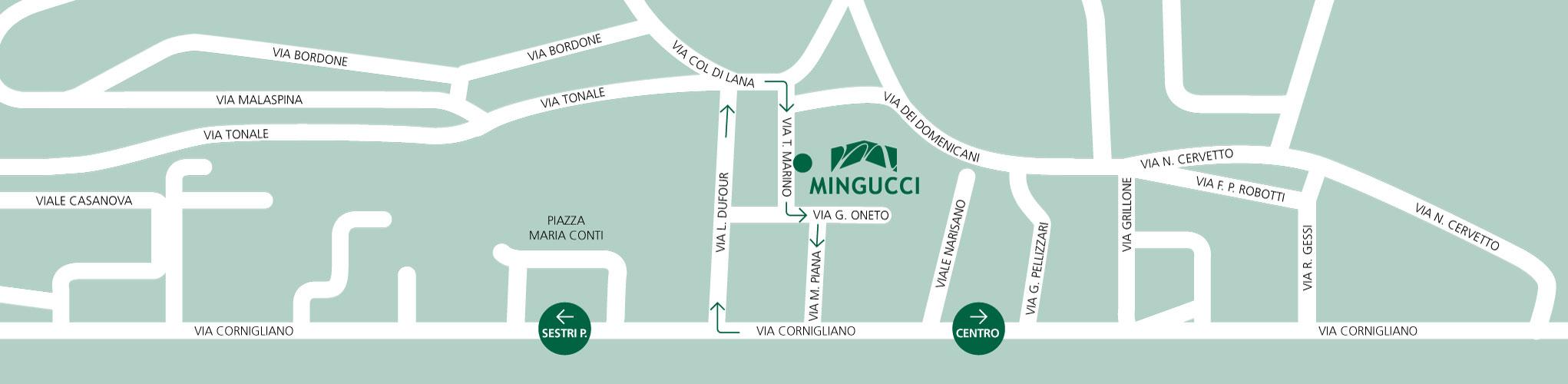 mappa sito mingucci